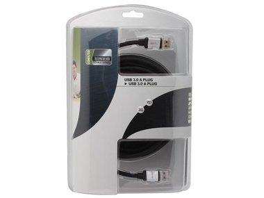 USB KABEL 3.0 - A PLUG NAAR A PLUG/ PROFESSIONEEL / 5.0m (PAC604T050)