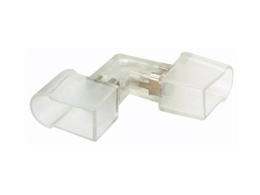 CONNECTOR IN L VORM TYPE 2 (PLAT) VOOR DE FLEX LED SERIE - 5 STUKS (RLLFLC2)