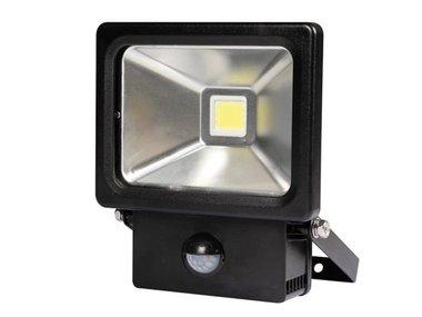 LED-SCHIJNWERPER VOOR BUITENSHUIS MET PIR-SENSOR - 20 W - NEUTRAALWIT (LEDA2002NW-BP)