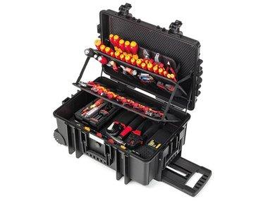 Wiha Gereedschapset elektricien Competence XXL II assorti 115-delig in koffer (42069) (WH43344)