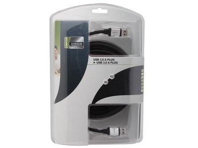 USB-KABEL-3.0---A-PLUG-NAAR-A-PLUG/-PROFESSIONEEL-/-5.0m-(PAC604T050)