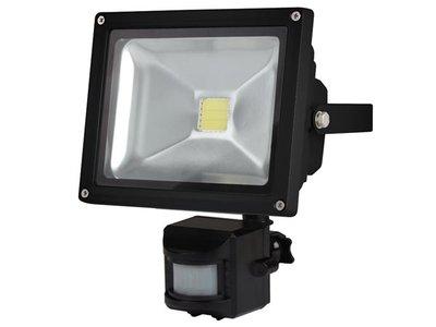 LED-SCHIJNWERPER-VOOR-BUITENSHUIS-MET-PIR-SENSOR---20-W-EPISTAR-CHIP---3000-K-(LEDA3002WW-BP)